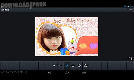 happy birthday frames