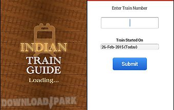 Indian train guide