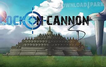 Lock on cannon
