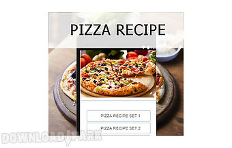 Pizza recipes food