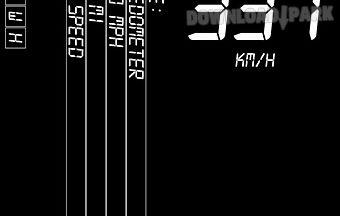 Speedometer gps pro indivisible
