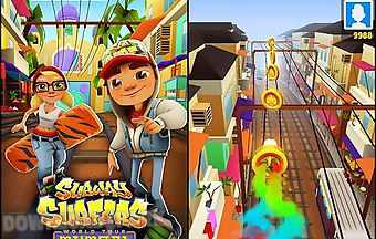 Subway surfers: world tour mumba..