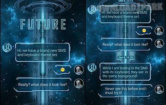 (free) go sms pro future theme
