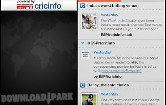 The espncricinfo cricket app Android App free download in Apk