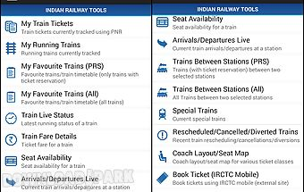 Indian rail enquiry Android App free download in Apk