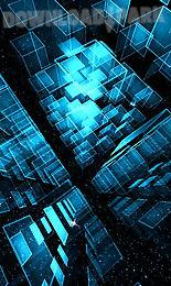 Matrix 3d Cubes 3 Trial Lwp Android Animiert Hintergrundbild