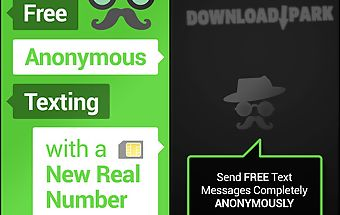 Mustache anonymous texting sms