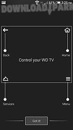 wd tv remote
