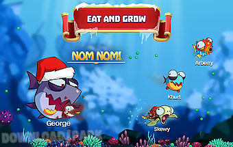 Eatme.io: underwater fish wars