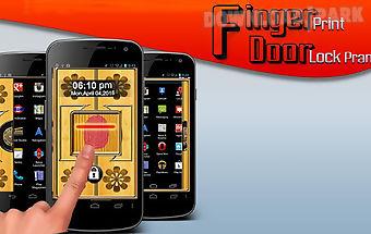 Fingerprint door lock prank