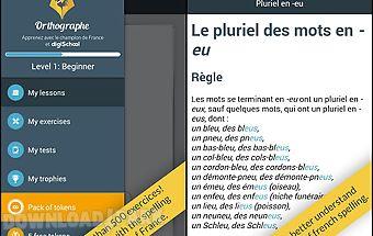 French spelling by digischool