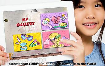 Girls fashion painting 4 kids
