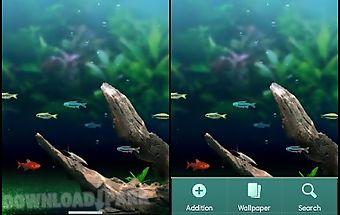 Nature aquarium theme