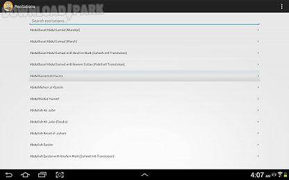 Quran tilawat Android App free download in Apk