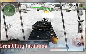 Tank battles: gunner war 3d