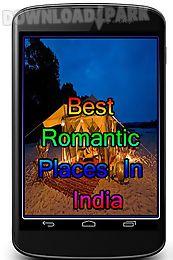 best romantic places in india