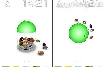 Jelly bean 3d