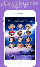 photo caller screen dialer