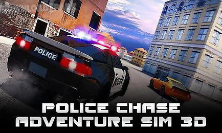 police chase: adventure sim 3d