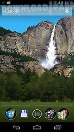 waterfall live 3d wallpaper