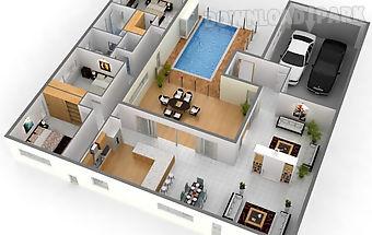 3d house floor plan ideas