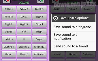 Baby sounds & ringtones