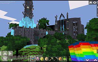 Cartoon craft: castle world pe