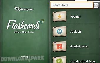 Dictionary.com flashcards
