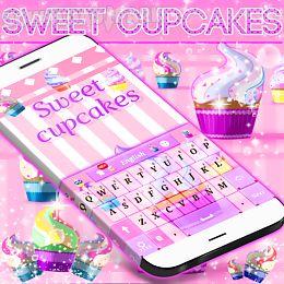 sweet cupcake keyboard