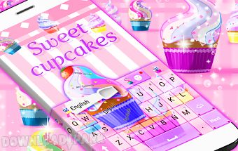 Sweet cupcake keyboard