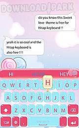 sweet love for hitap keyboard