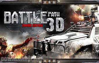 Battle path 3d- zombie edition