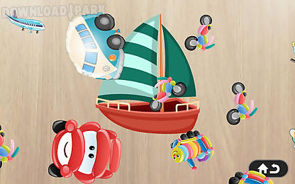 car & vehicles puzzle for kids
