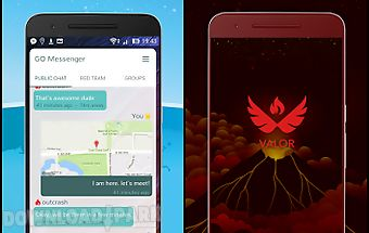 Messenger for pokemon go