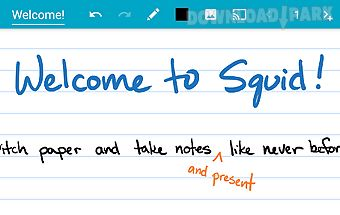 Squid: take notes, markup pdfs
