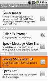 talking caller id