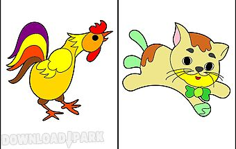 Animals - coloring pages