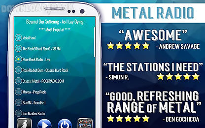 free metal radio