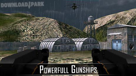 gunship helicopter war 3d