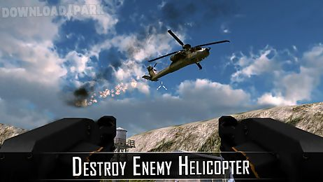 gunship helicopter war 3d