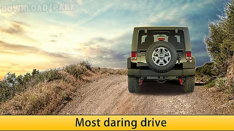 offroad dangerous jeep drive