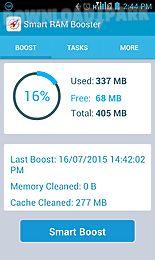 Smart ram booster Android Anwendung Kostenlose Herunterladen