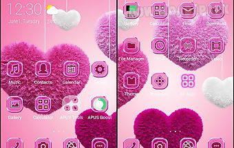 Sweetheart-apus launcher theme