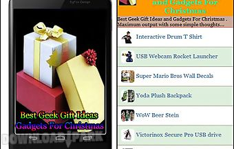 Best geek gift ideas and gadgets..
