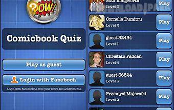 Comicbook quiz free