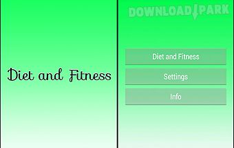 Diet and_fitness