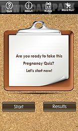 pregnancy quiz - early pregnancy symptoms trivia