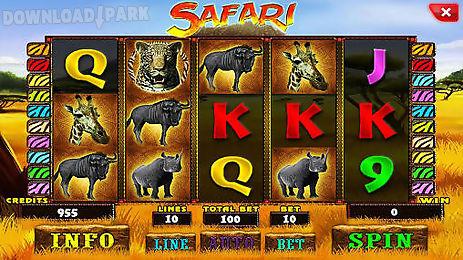safari: slot