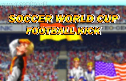 soccer world cup: football kick