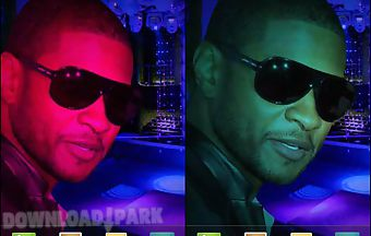 Usher live live wallpaper
